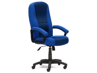 Кресло СH888 ткань + сетка Синий + Синий (2601/10)