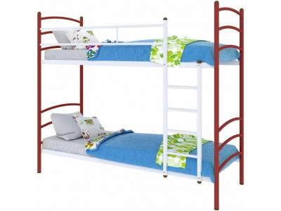 Кровать Милана duo красная