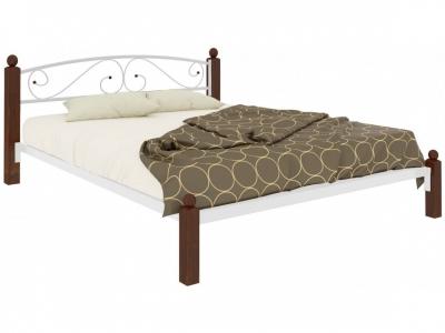 Кровать Вероника Lux белая
