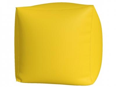 Пуфик Куб макси нейлон желтый
