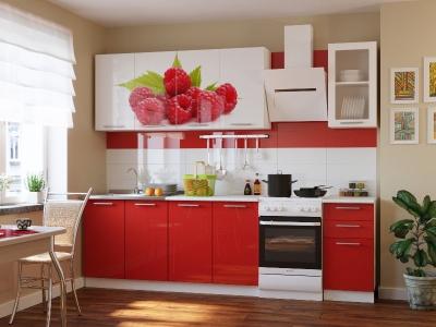 Кухонный гарнитур Риал К-80-красный 2000