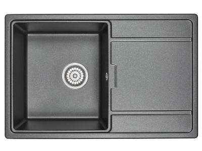 Кухонная мойка Granula 7804 Шварц
