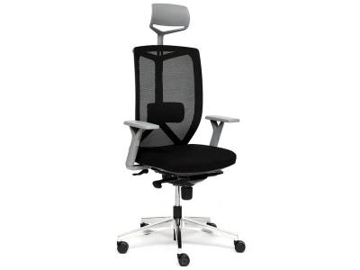 Кресло Volo Gray Alu ткань Чёрный