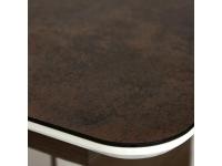Стол Radcliffe Коричневый стекло Чёрное (mod. Edt-vg002)