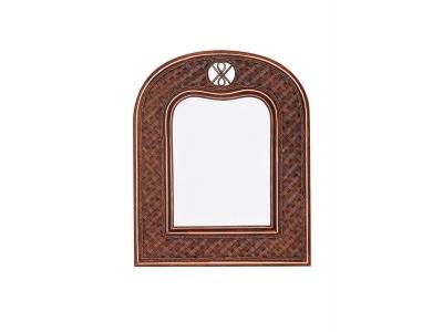 Зеркало вертикальное Andrea Античный Орех